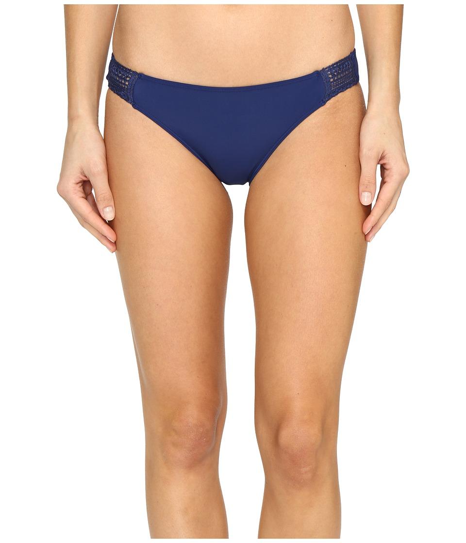 Roxy Sea Lovers Surfer Bikini Bottom (Blue Depths) Women
