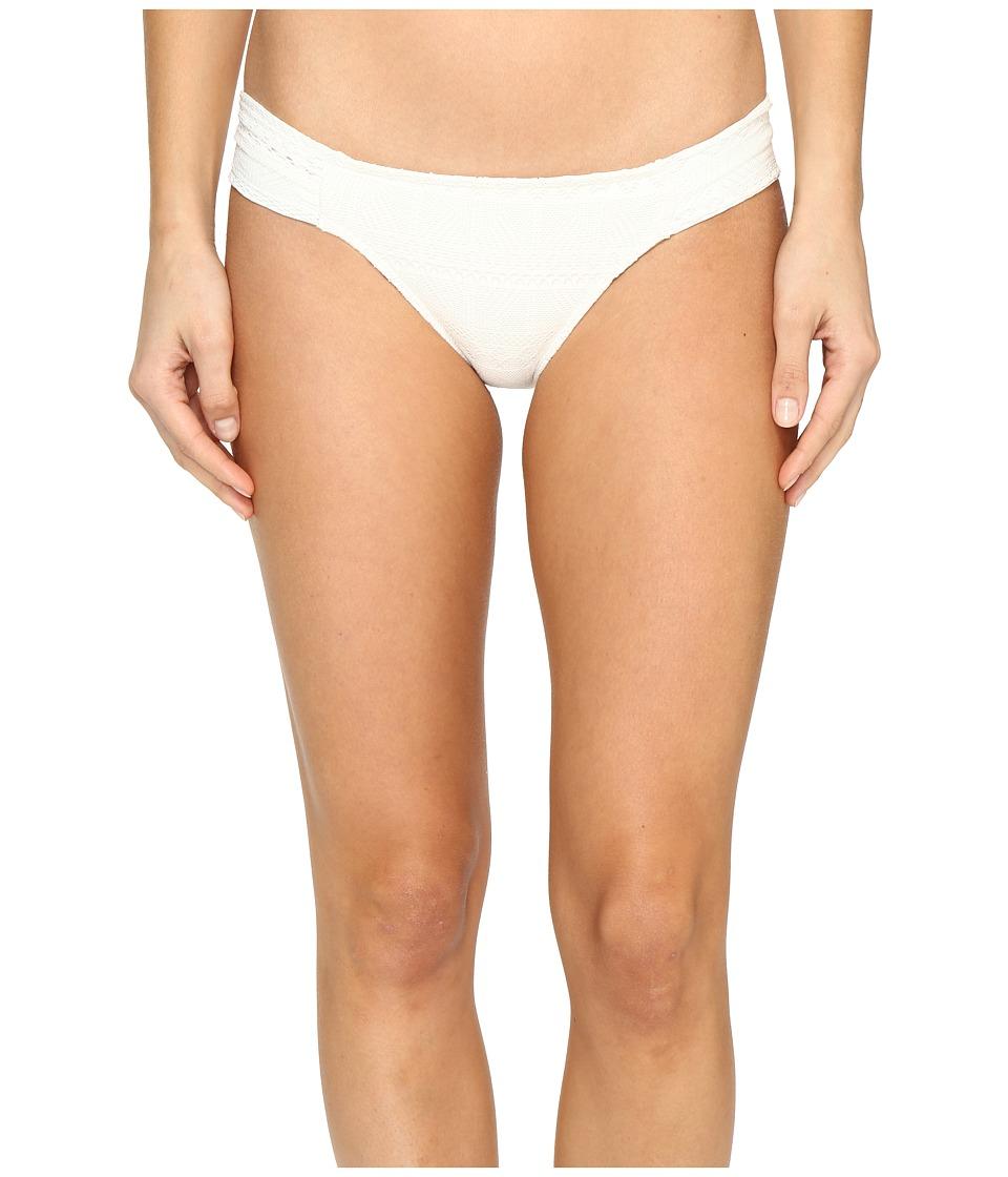 Roxy Drop Diamond Base Girl Bikini Bottom (Marshmellow) Women