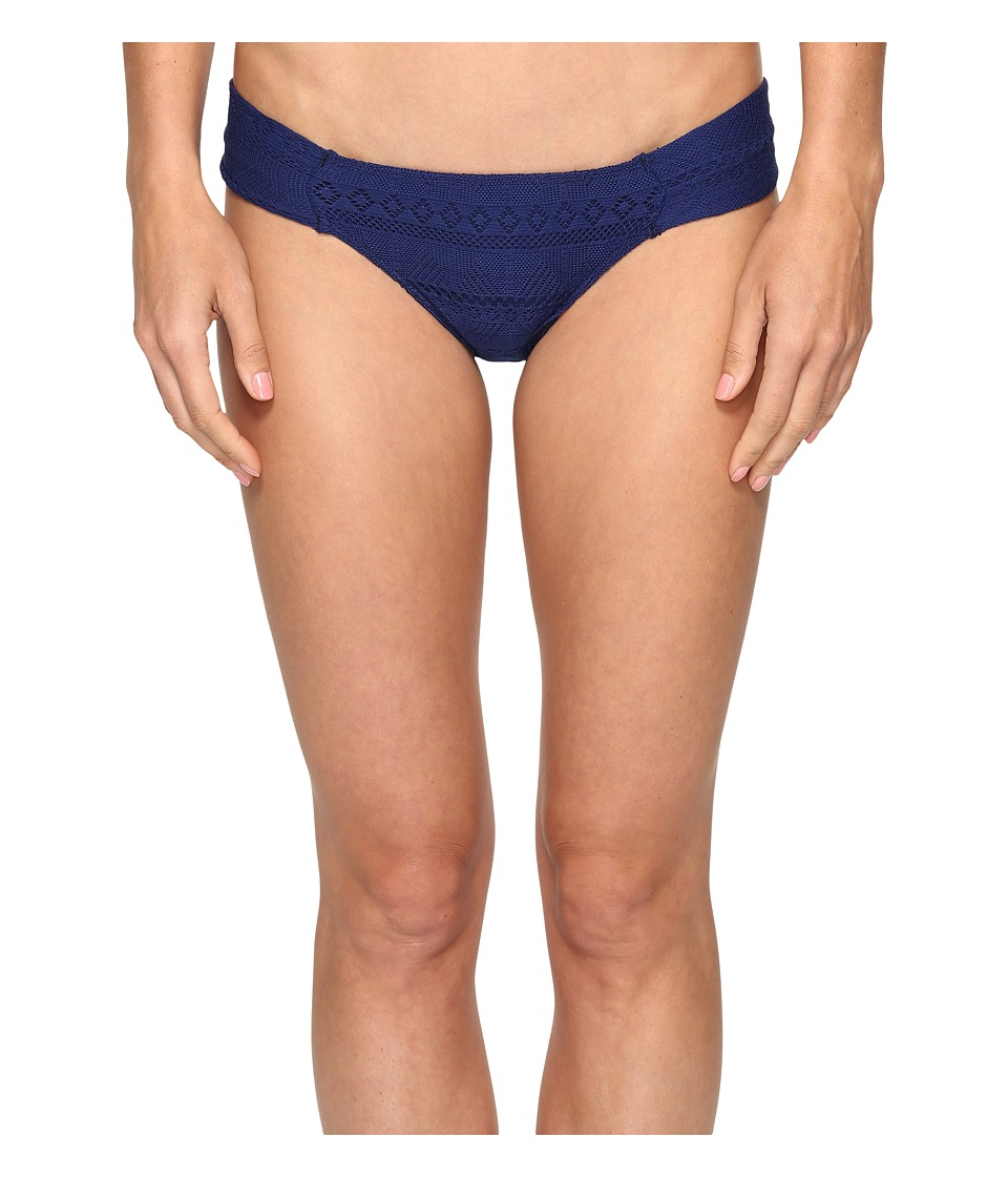 Roxy - Drop Diamond Base Girl Bikini Bottom (Blue Depths) Women