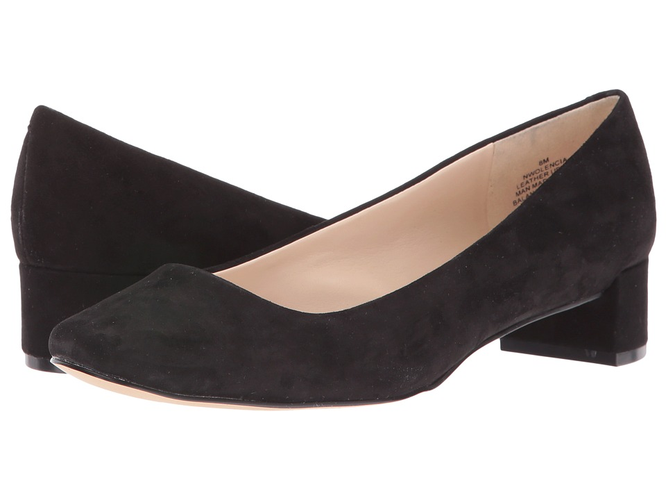 Nine West - Olencia (Black Suede) Women's Shoes