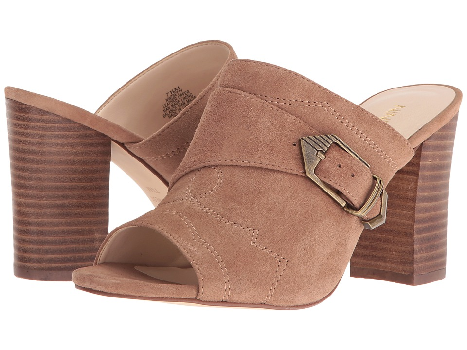 Nine West - Betty (Natural Suede) High Heels