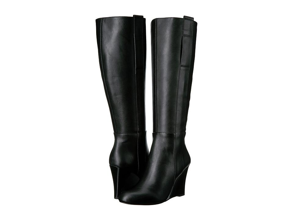 Nine West Orsella (Black Leather) Women
