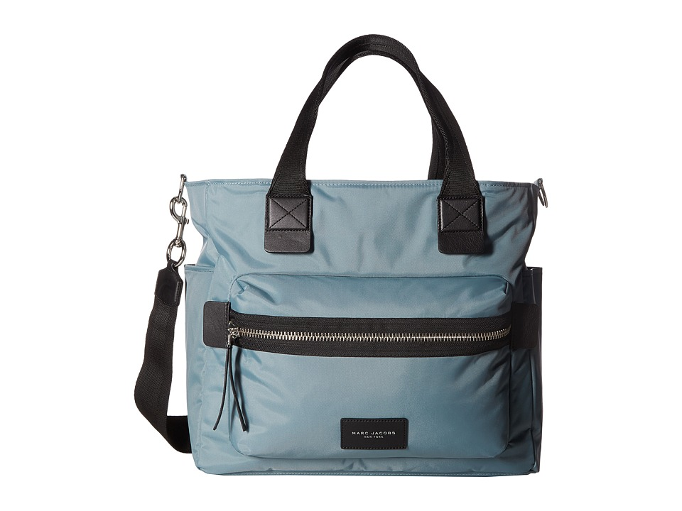 Marc Jacobs - Nylon Biker Babybag (Dolphin Blue) Handbags
