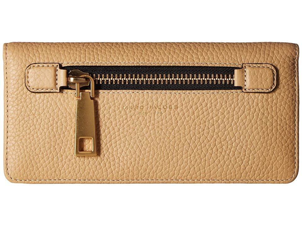 Marc Jacobs - Gotham Open Face Wallet (Sand) Wallet Handbags