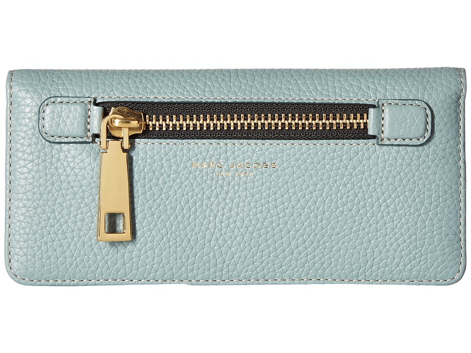 Marc Jacobs - Gotham Open Face Wallet (Dolphin Blue) Wallet Handbags