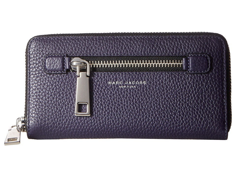 Marc Jacobs - Gotham Continental Wallet (Nightshade) Wallet Handbags