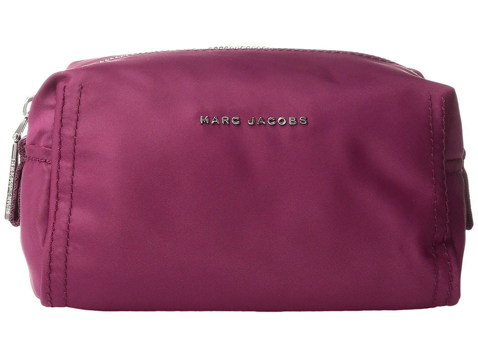 Marc Jacobs - Easy Cosmetics Large Cosmetic (Wild Berry) Cosmetic Case