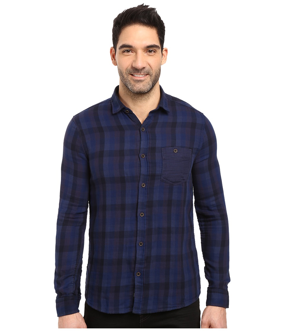 Mavi Jeans - Checked Shirt (Mood Indigo Check) Men's Clothing