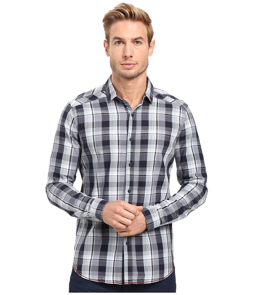 Mavi Jeans - Checked Shirt (Blue Shadow Checked) Men's Clothing
