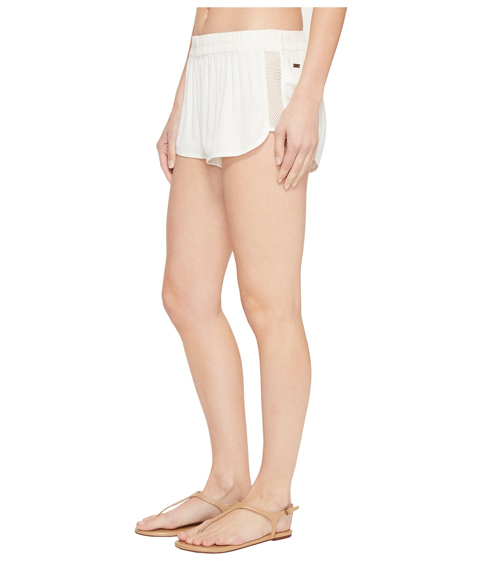 Roxy - Surf'N'Go Beach Short Cover-Up (Marshmellow) Women's Swimwear
