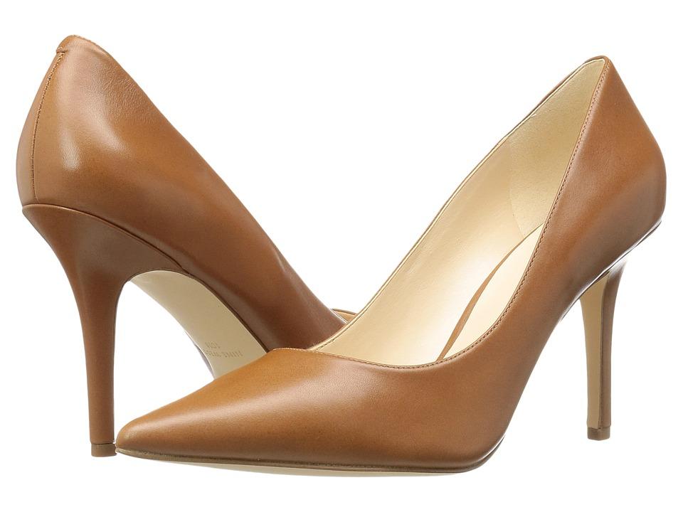 Nine West - Jackpot (Cognac Leather) High Heels