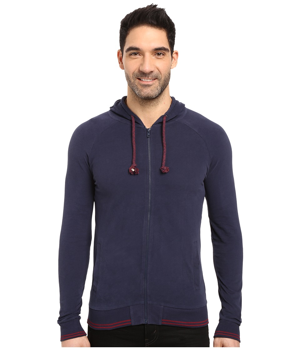 Mavi Jeans - Zip Hoodie (Mood Indigo) Men's Sweatshirt