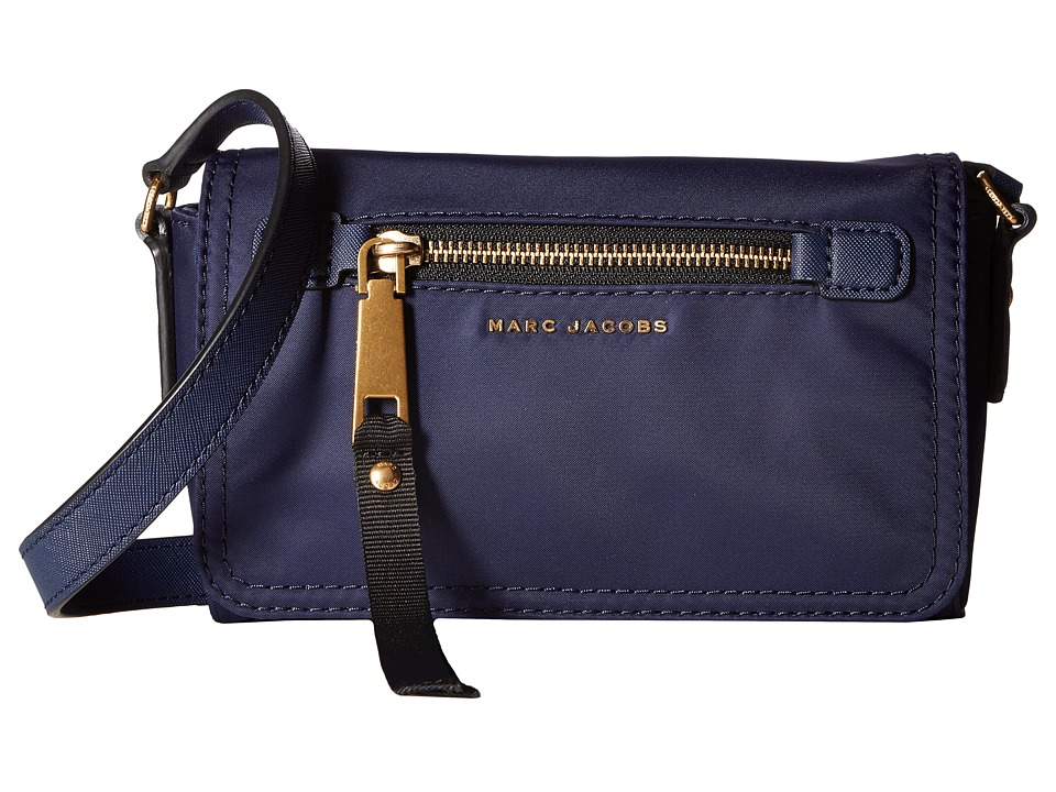 Marc Jacobs - Trooper Crossbody (Midnight Blue) Cross Body Handbags