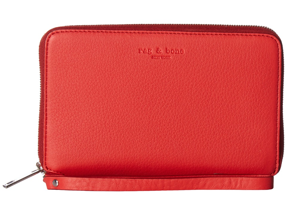 rag & bone - Phone Wallet (Crimson) Wallet Handbags