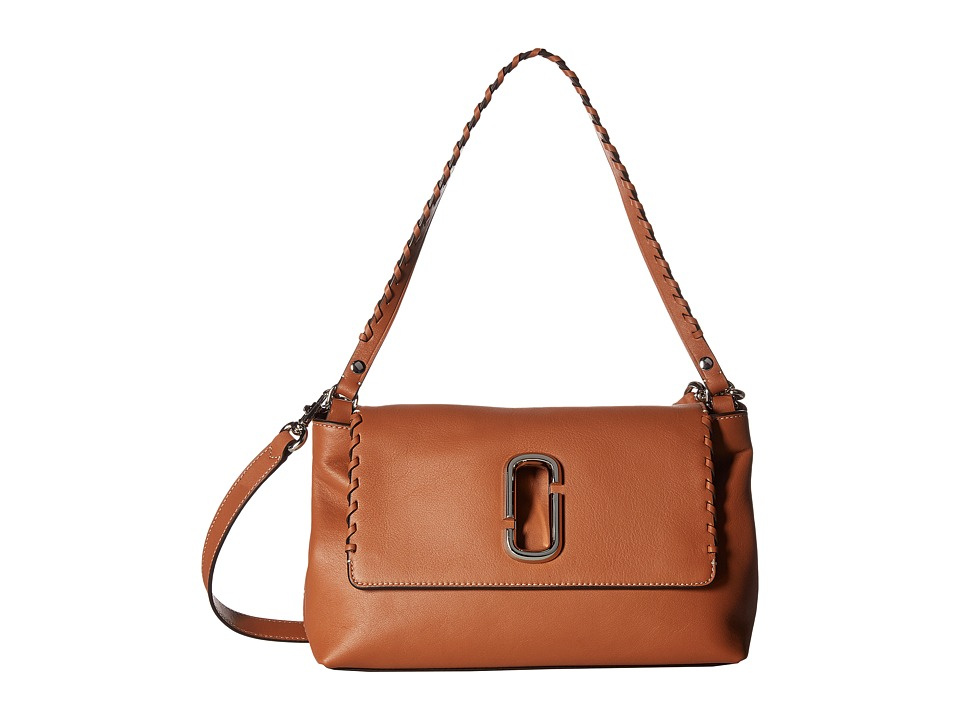 Marc Jacobs - Noho Shoulder Bag (Caramel Caf ) Shoulder Handbags