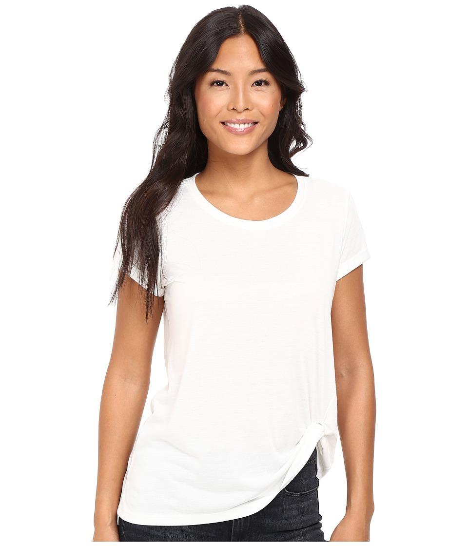 Mavi Jeans - Short Sleeve Top (Antique White) Women's Clothing