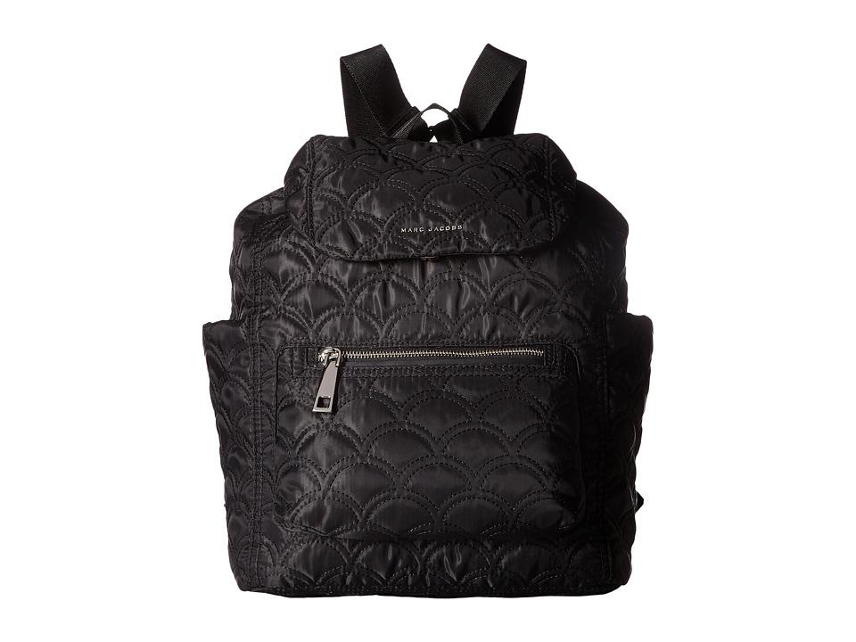 Marc Jacobs - Easy Matelasse Backpack (Black) Backpack Bags