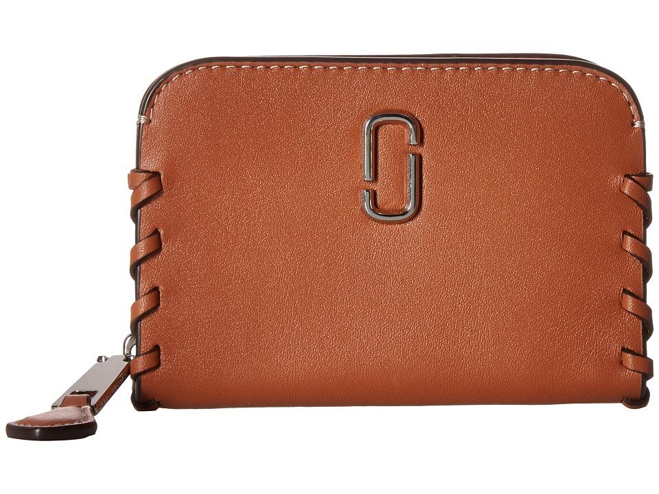 Marc Jacobs - Noho Zip Card Case (Caramel Caf ) Credit card Wallet