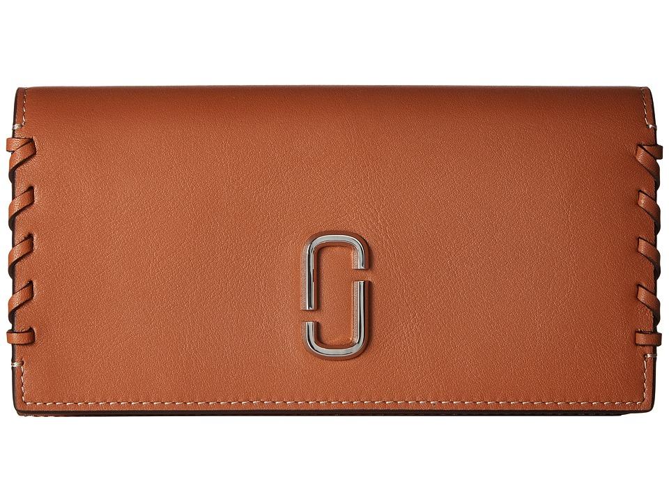 Marc Jacobs - Noho Flap Continental (Caramel Caf ) Handbags