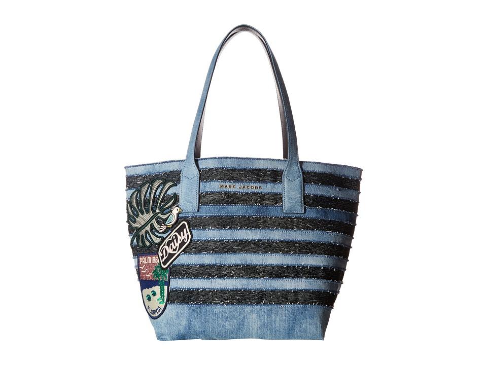 Marc Jacobs - Denim Wingman (Denim Multi) Handbags