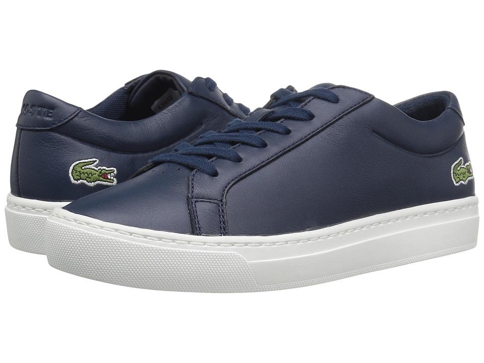 Lacoste Kids - L.12.12 117 1 SP17 (Little Kid/Big Kid) (Navy) Kids Shoes