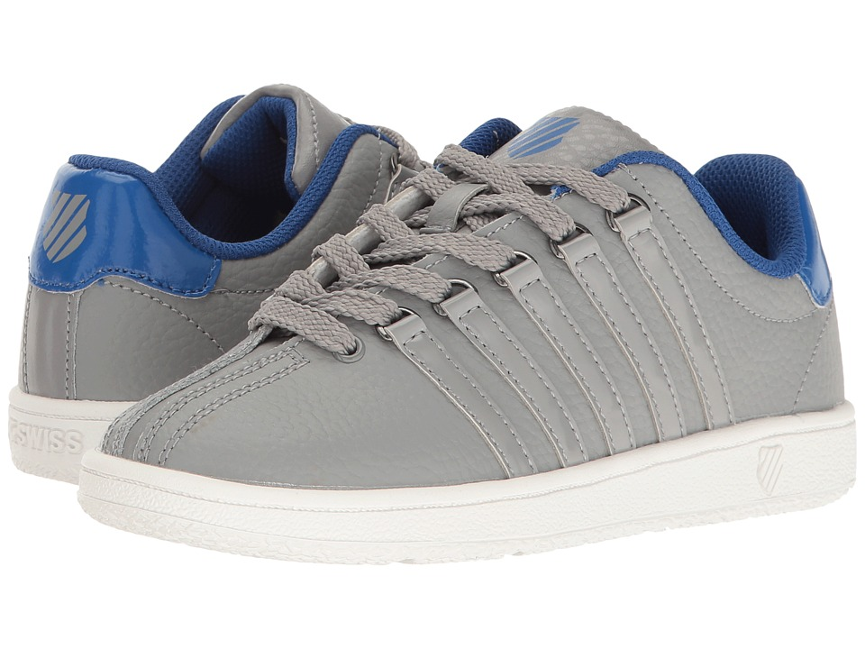 K-Swiss Kids - Classic VN (Little Kid) (Stingray/Classic Blue) Boys Shoes