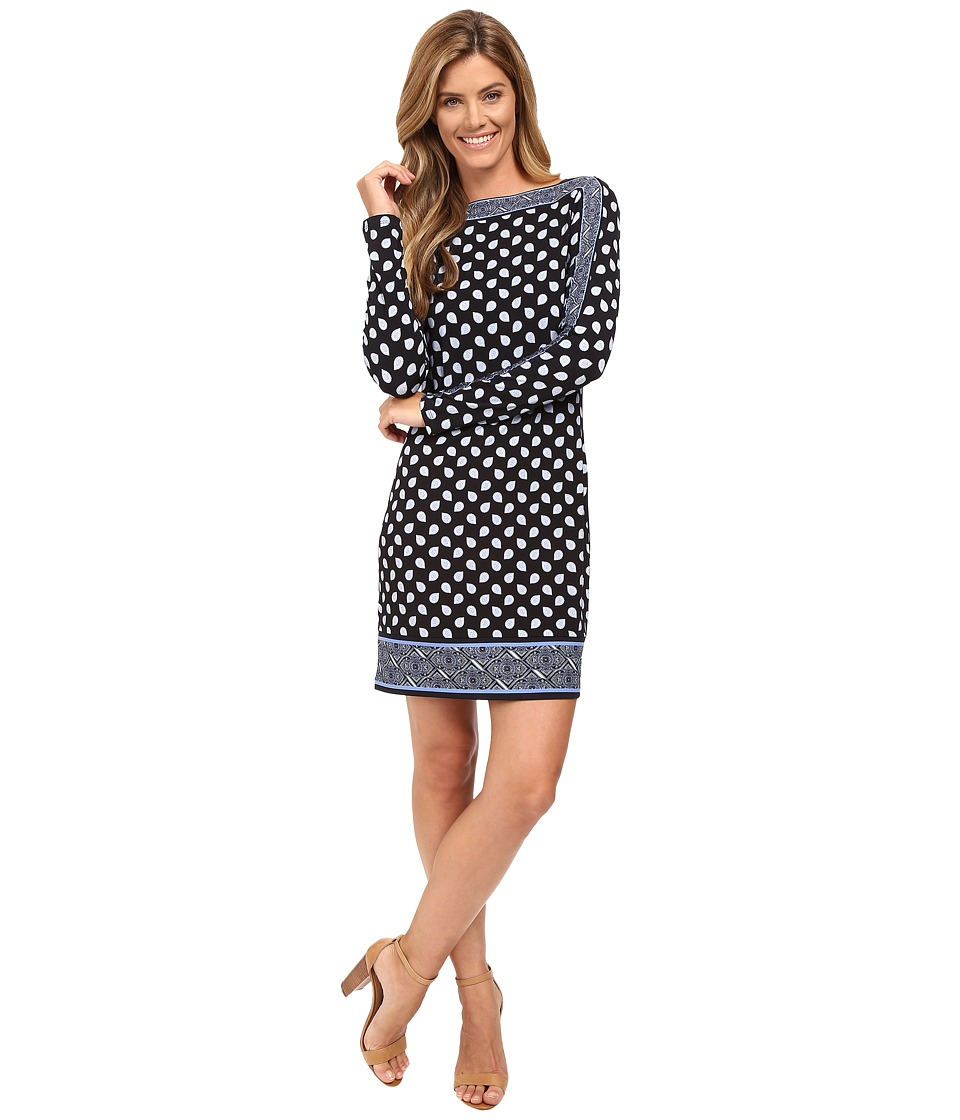 MICHAEL Michael Kors - Bergalia Border Dress (New Navy) Women's Dress