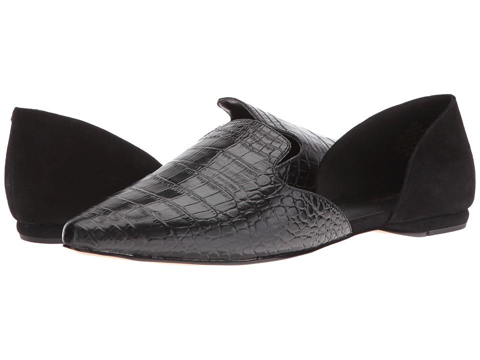 Nine West - Shay (Black/Black Croc) High Heels