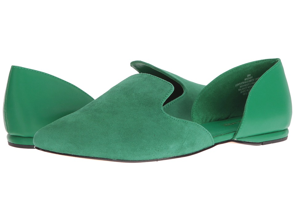 Nine West - Shay (Green/Green Suede) High Heels