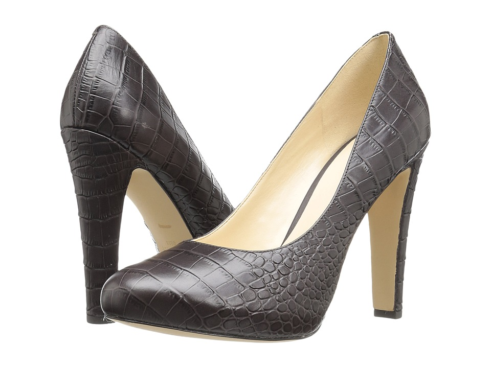 Nine West Brielyn (Dark Brown Croc) Women