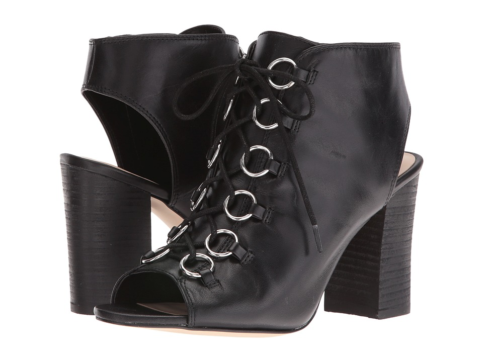 Nine West - Bree (Black Leather) High Heels