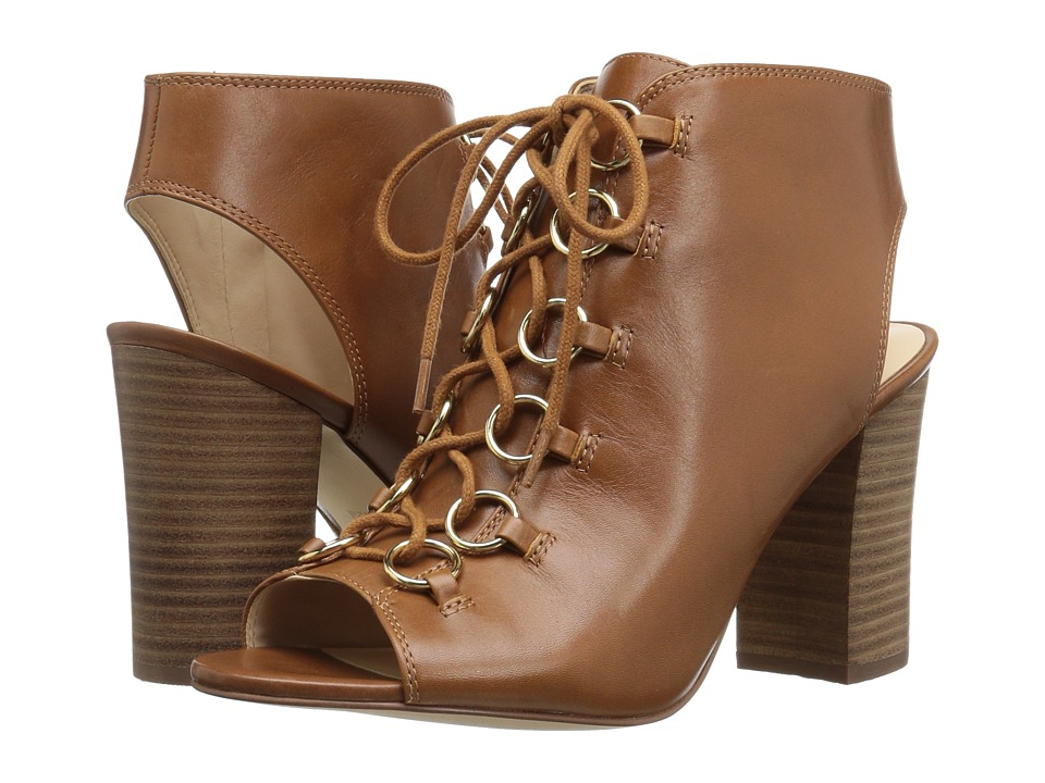 Nine West - Bree (Cognac Leather) High Heels