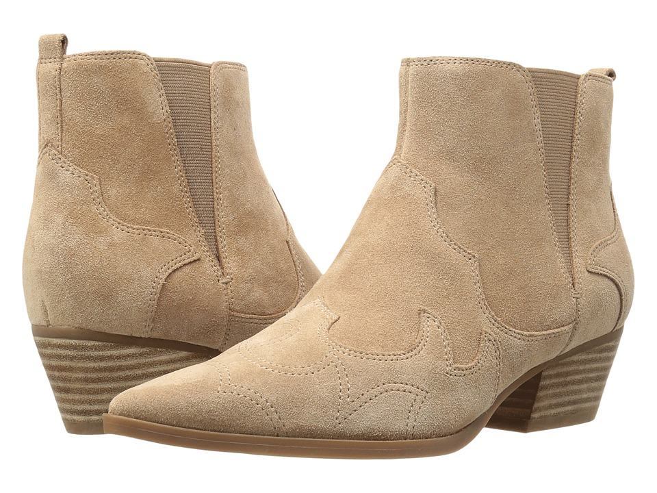 Nine West - Cedar (Natural Suede) Women's Pull-on Boots