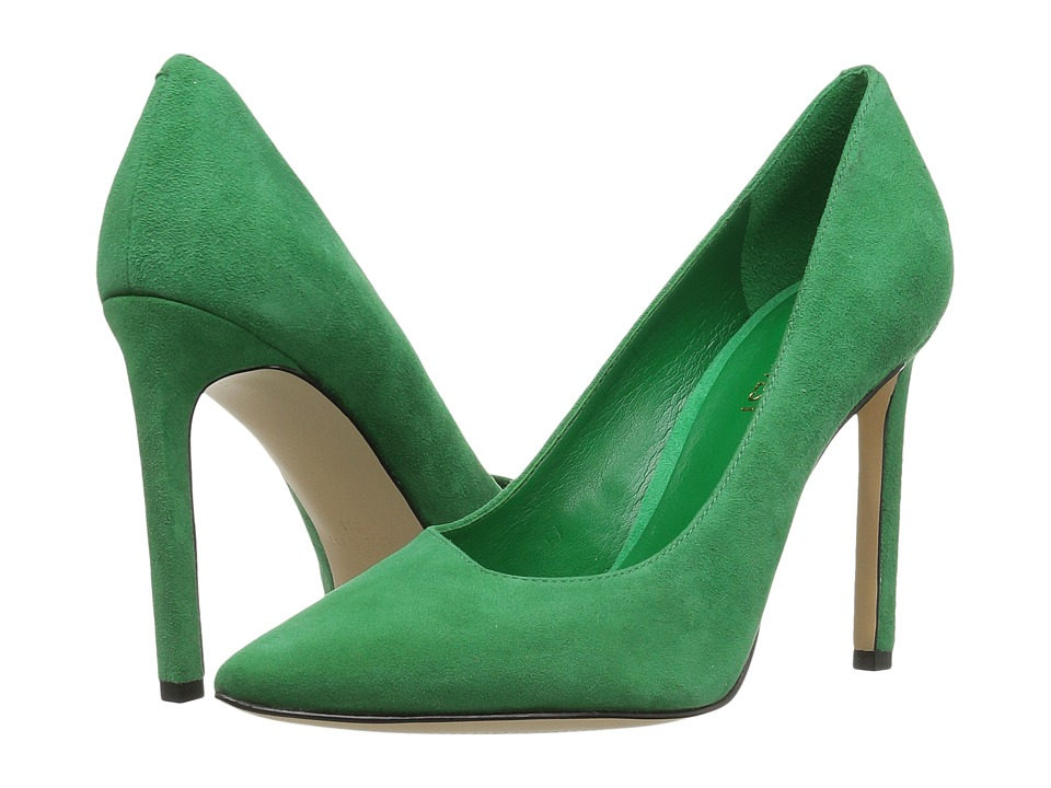 Nine West - Tina (Green Suede) Women's Shoes
