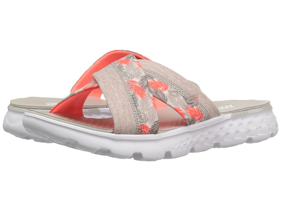 SKECHERS Performance - On-The-Go 400 - Tropical (Natural/Coral) Women's Sandals