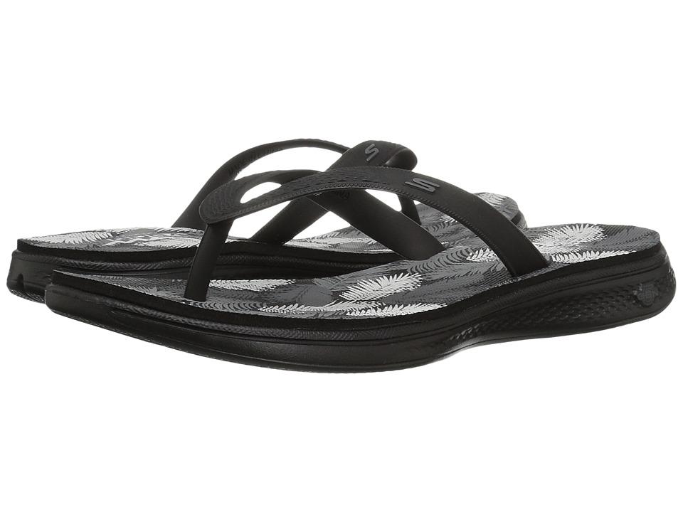 SKECHERS Performance - H2 Goga (Black/Gray) Women's Sandals