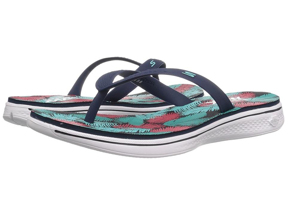 SKECHERS Performance - H2 Goga (Navy) Women's Sandals
