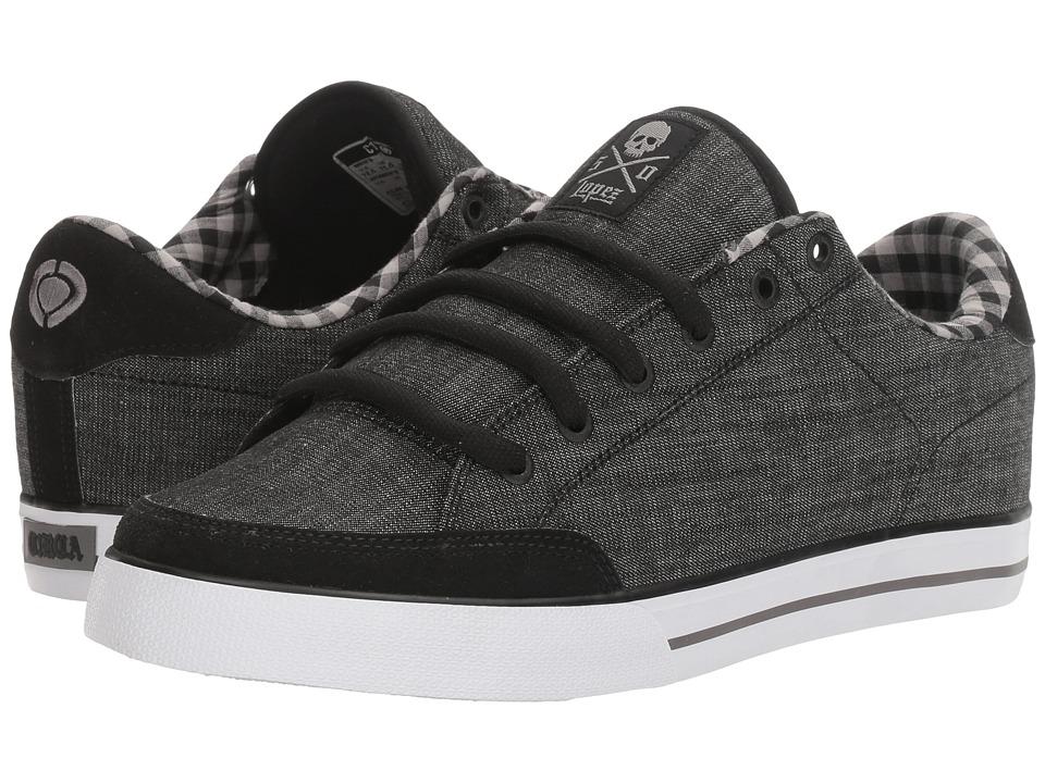 Circa - AL50 (Black Denim/Plaid) Men's Shoes