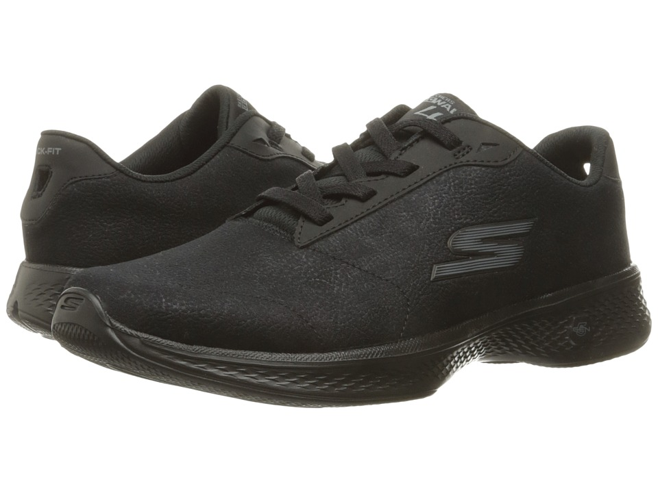 SKECHERS Performance Go Walk 4 Premier (Black) Women