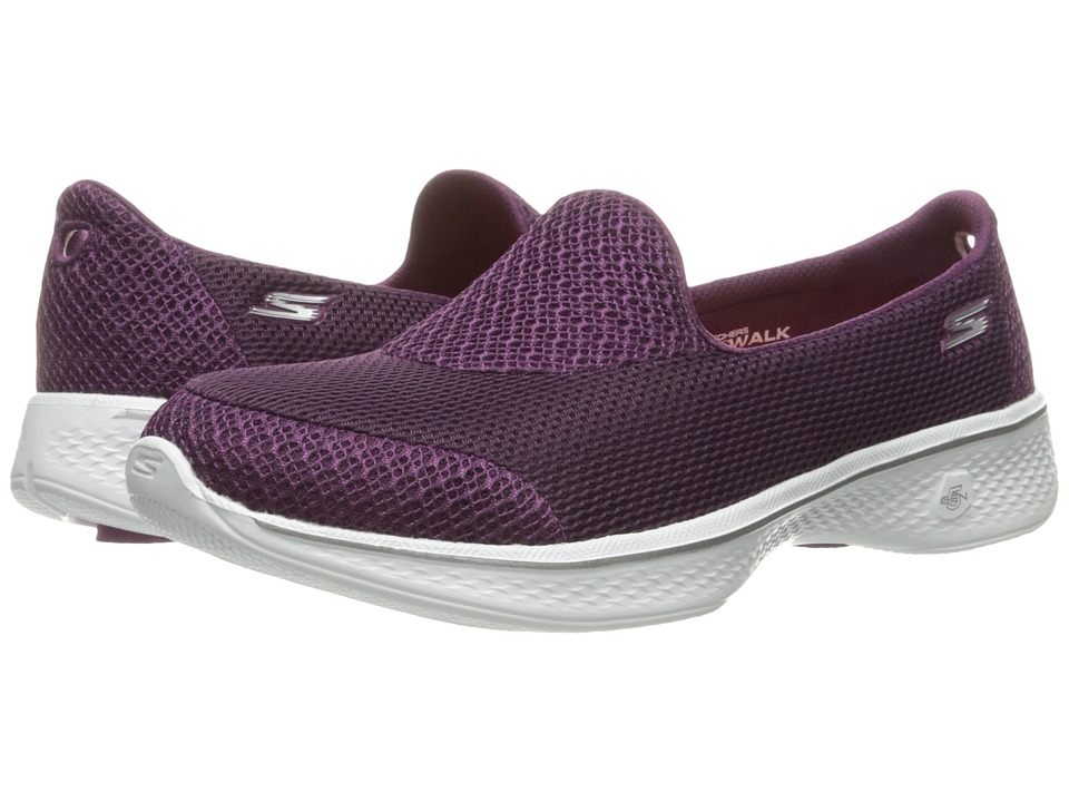 SKECHERS Performance - Go Walk 4 - Propel (Raspberry) Women's Shoes