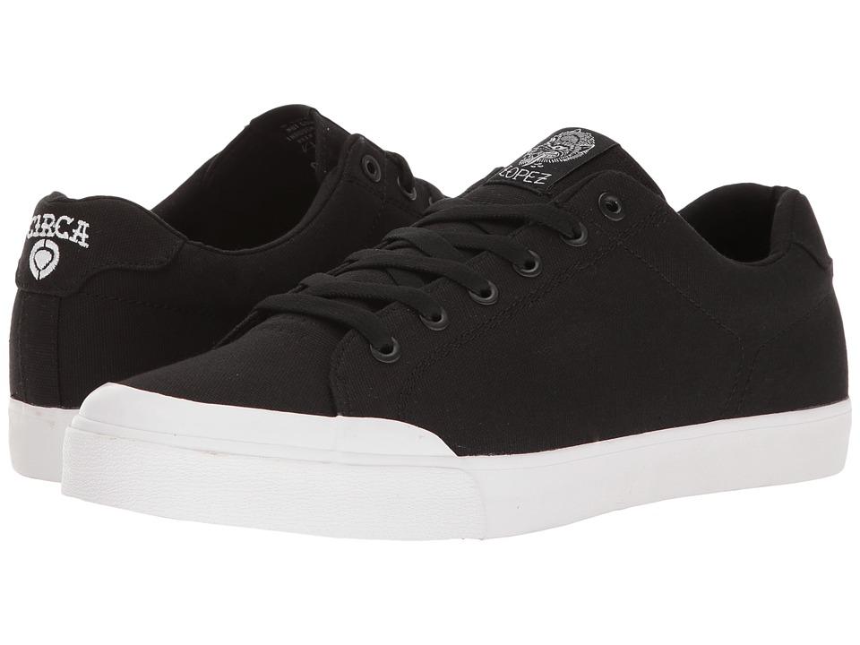 Circa - AL50R (Black/White/Gum) Men's Skate Shoes