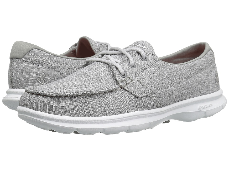 SKECHERS Performance Go Step Marina (Gray) Women
