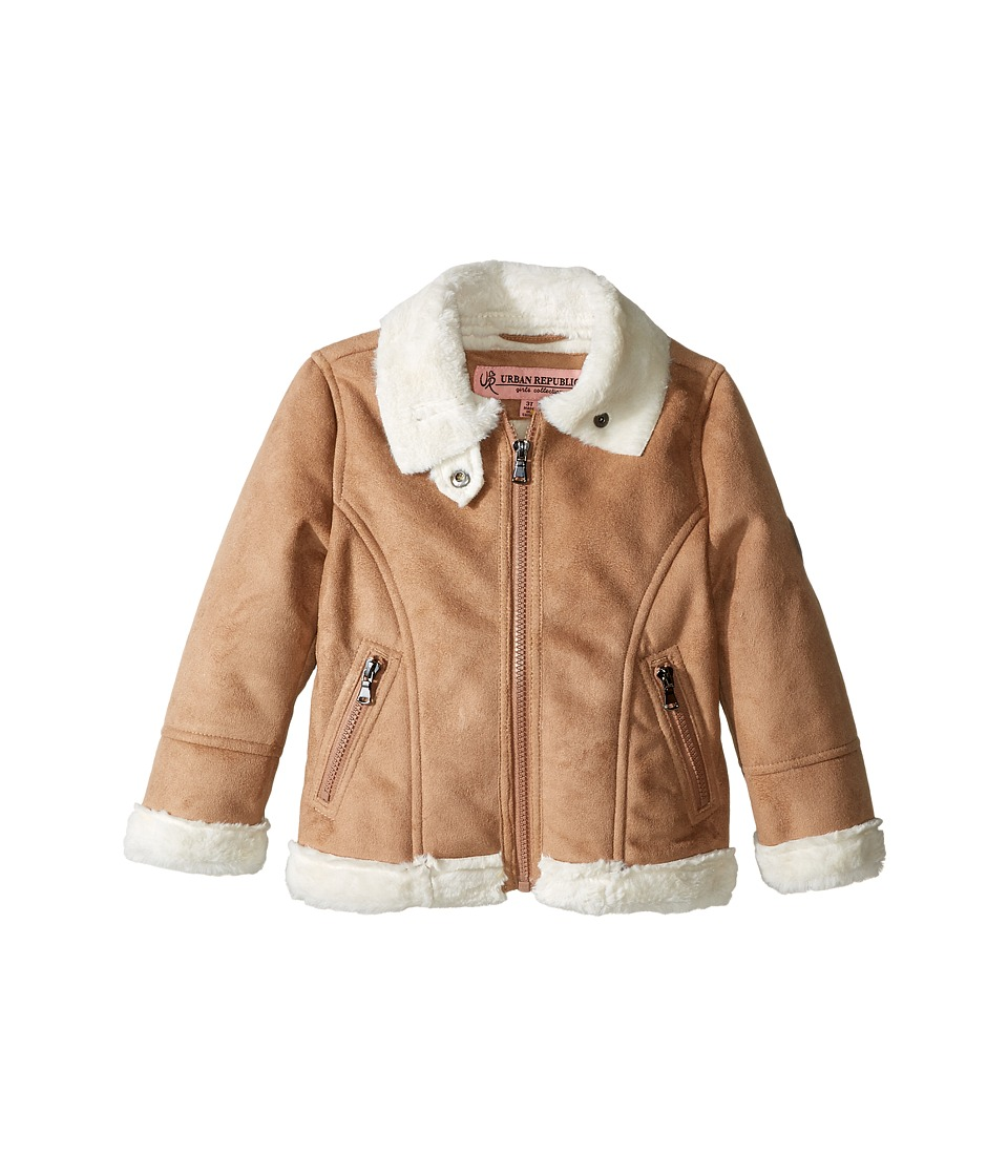 9939cd0ad6b5 Urban Republic Kids - Peach-Finish Microfiber Jacket w  Detachable ...