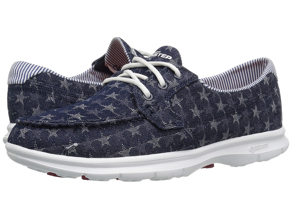 SKECHERS Performance Go Step Liberty (Denim) Women