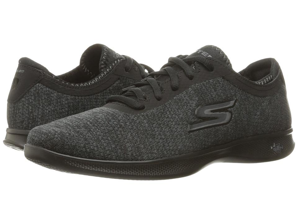 SKECHERS Performance - Go Step Lite (Black/Gray) Women's Shoes