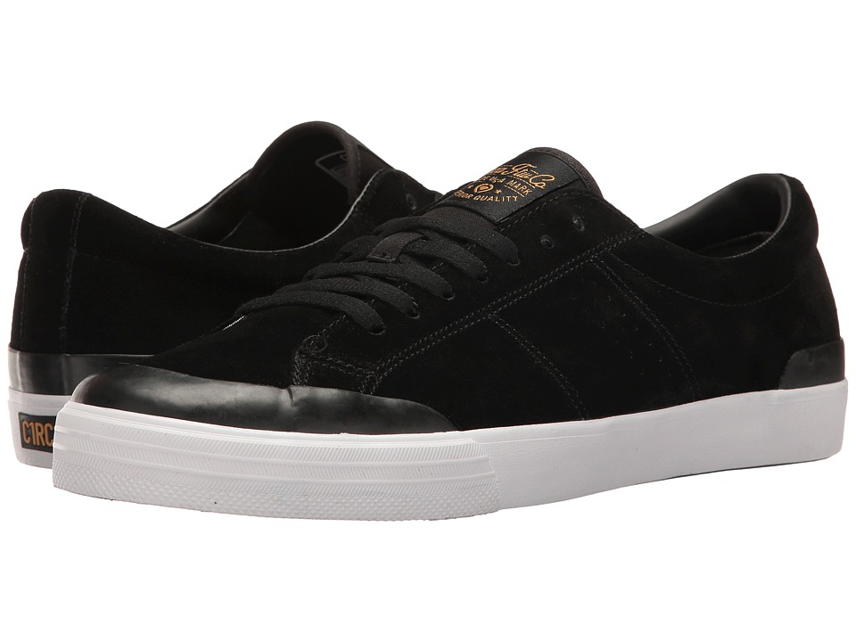 Circa - Fremont (Black/Harvest Gold) Men's Skate Shoes