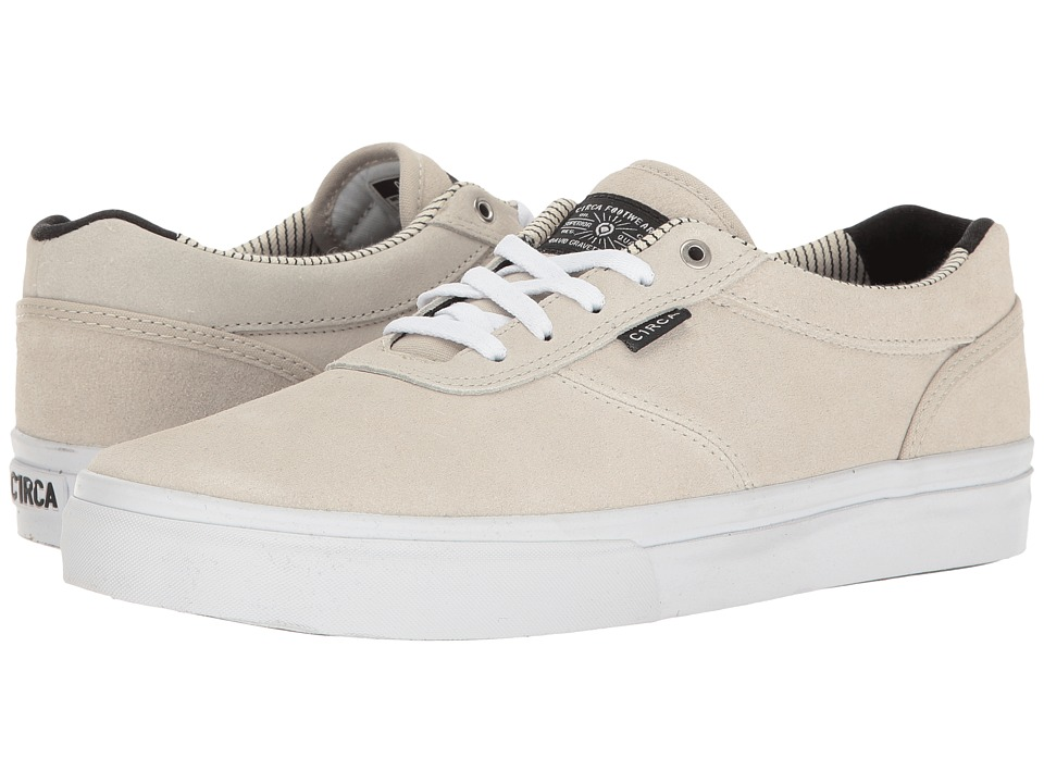 Circa - Gravette (White) Men's Skate Shoes