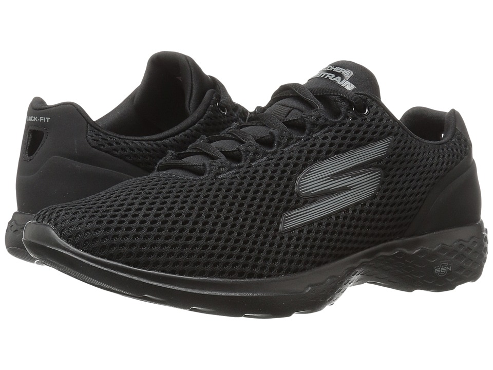 SKECHERS Performance - Go Train (Black) Women's Shoes