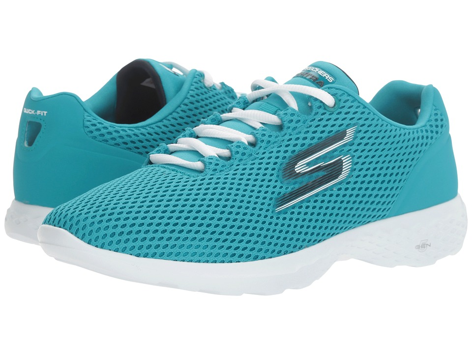 SKECHERS Performance - Go Train (Turquoise) Women's Shoes