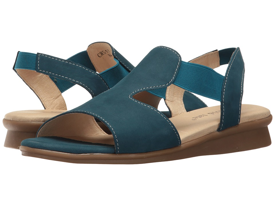 David Tate - Ash (Navy Nubuck) Women's Sandals